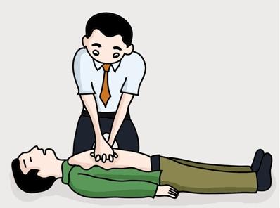 心肺复苏分为六个步骤:叫-叫-体位-a-b-c