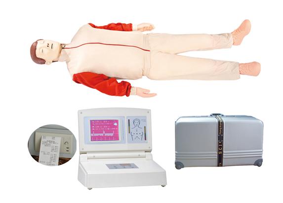知能医学模型大屏幕液晶彩显高级电脑心肺复苏模拟人